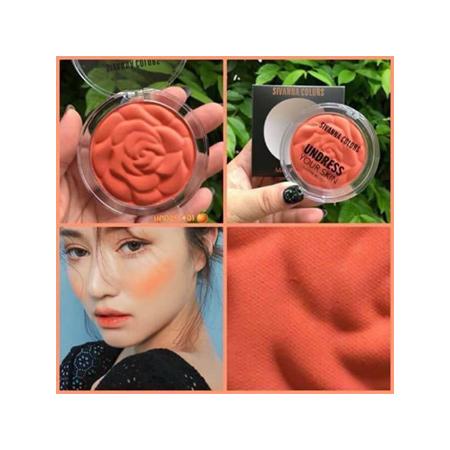 Phấn Má Hồng Sivanna Colors Undress Your Skin Matte Blush No.01