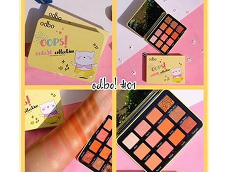 Phấn-Mắt-Odbo-Oops-Eutest-Collection-Eyeshadow-Palette-No.01