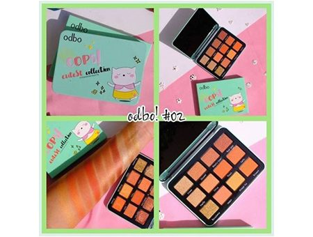 Phấn Mắt Odbo Oops Eutest Collection Eyeshadow Palette No.02