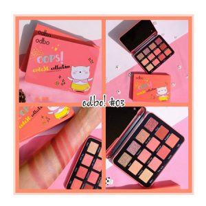 Phấn Mắt Odbo Oops Eutest Collection Eyeshadow Palette No.03