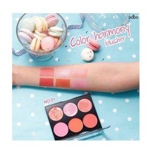Phấn-má-hồng-Odbo-Color-Harmony-Blusher-No.01
