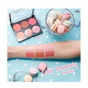 Phấn má hồng Odbo Color Harmony Blusher No.02