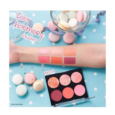 Phấn má hồng Odbo Color Harmony Blusher No.04