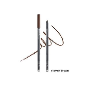Chì Kẻ Chân Mày The Face Shop Browlasting Waterproof Eyebrow Pencil (0.5g) màu 03 Dark Brown