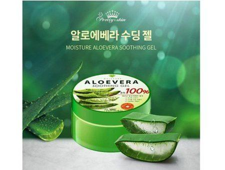 Gel Lô Hội Aloe Vera Soothing Gel 100% Pretty Skin (300ml)