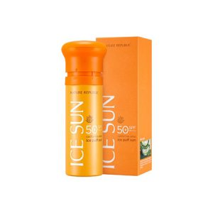 Kem Chống Nắng Nature Republic California Aloe Ice Puff Sun SPF50+ PA ++++ (100ml)