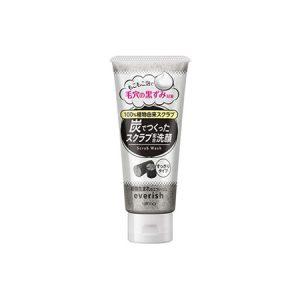 Sữa Rửa Mặt Tẩy Tế Bào Chết Than Hoạt Tính Utena Everish Facial Cleansing Scrub Wash (135g) Charcoal