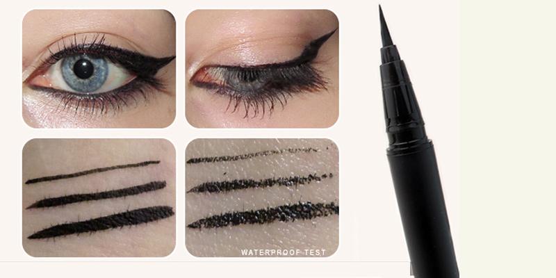 Bút-Kẻ-Mắt-Nước-Karadium-Waterproof-Brush-Liner-Black