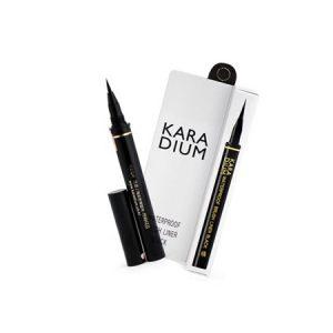 Bút Kẻ Mắt Nước Karadium Waterproof Brush Liner Black