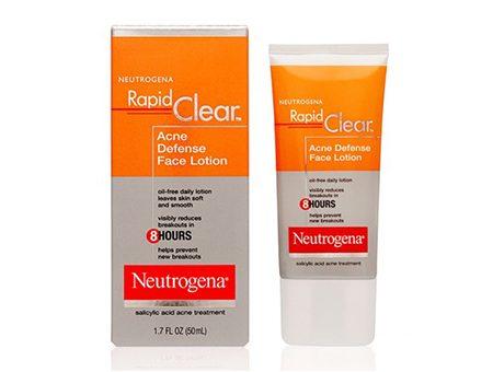 Kem Dưỡng Da Trị Mụn Neutrogena Rapid Clear Acne Defense Face Lotion (50ml)