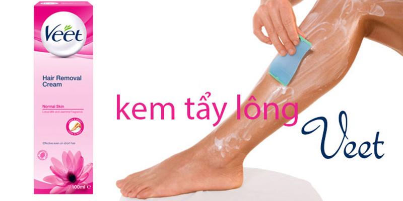Kem Tẩy Lông Veet Silk & Fresh Technology Da Thường 100ml