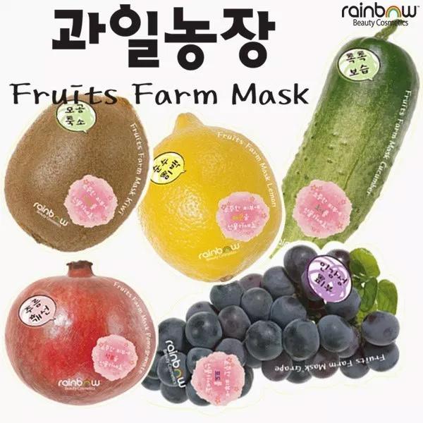 Mặt-Nạ-Dưỡng-Da-Rainbow-Fruits-Farm-Facial-Mask