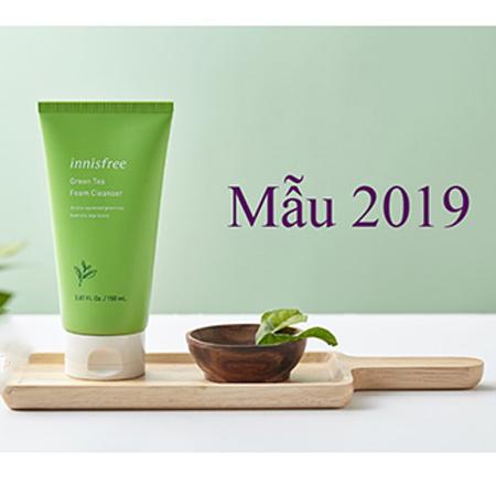 Sữa Rửa Mặt Innisfree Green Tea Foam Cleanser 150ml Mẫu 2019