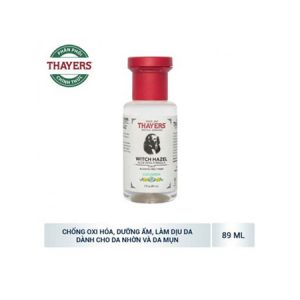 Nước Cân Bằng Da Thayers Alcohol-Free Witch Hazel Toner Cucumber (89ml)