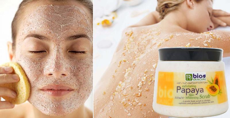 Tẩy-Tế-Bào-Chết-ESI-Bio-Skincare-Exfoliating-Papaya-Skin-Whitening-Scrub-(500ml)