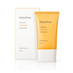 Kem Chống Nắng Innisfree Intensive Sunscreen Triple Care SPF50+ PA++++ 2019