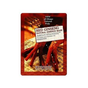 Mặt Nạ 3D Hồng Sâm Red Ginseng Natural Essence Mask Foodaholic