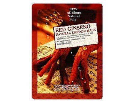 Mặt Nạ 3D Hồng Sâm Red Ginseng Natural Essence Mask Foodaholic