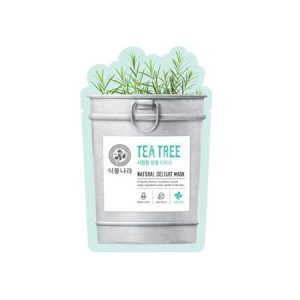 Mặt Nạ Shingmulnara Natural Delight Mask Tea Tree
