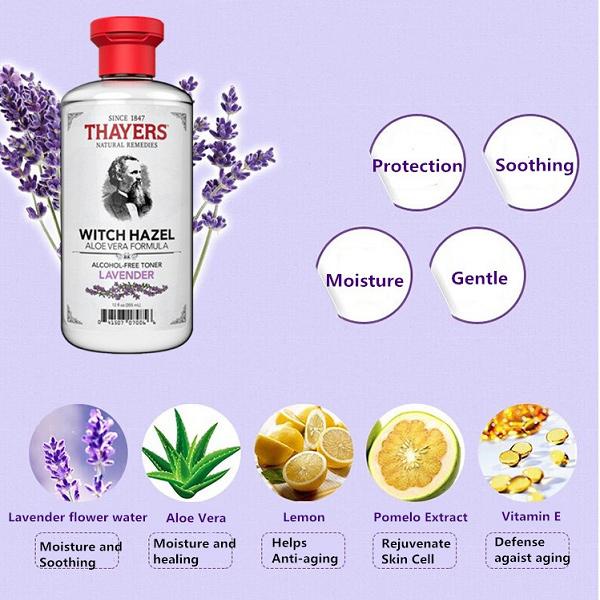 Nước-Cân-Bằng-Da-Thayers-Alcohol-Free-Witch-Hazel-Toner-Lavender