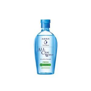 Nước Tẩy Trang Senka All Clear Water Micellar Formula Fresh Giảm Bóng Dầu 230ml