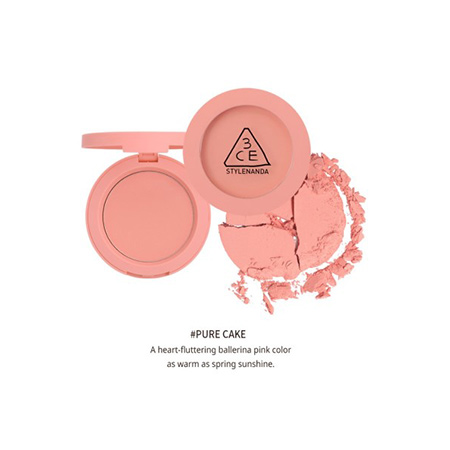 Phấn Má Hồng 3CE Stylenanda Mood Recipe (5,5g) Màu Pure Cake