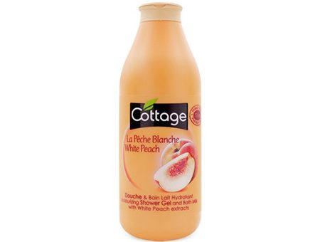 Sữa Tắm Cottage Shower Gel And Bath Milk Peach (750ml)