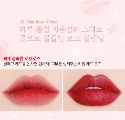 Son-Black-Rouge-Rose-Velvet-Lipstick-R01-Lady-Rose