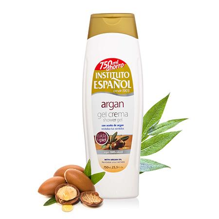 Sữa-tắm-chiết-xuất-tinh-dầu-Argan-INSTITUTO-ESPANOL-Argan-Shower-Gel-Cream-750ml